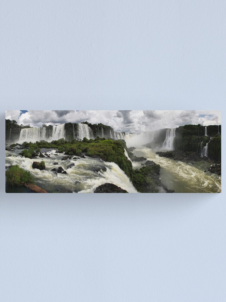 Alternate view of Iguazu Falls Canvas Print