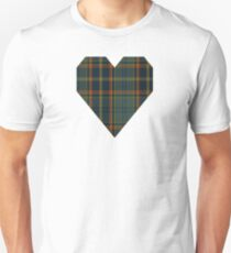 00299 Antrim County District Tartan  Unisex T-Shirt