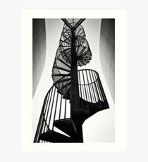 Winding stairs Art Print