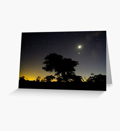 Geelong Glow Greeting Card