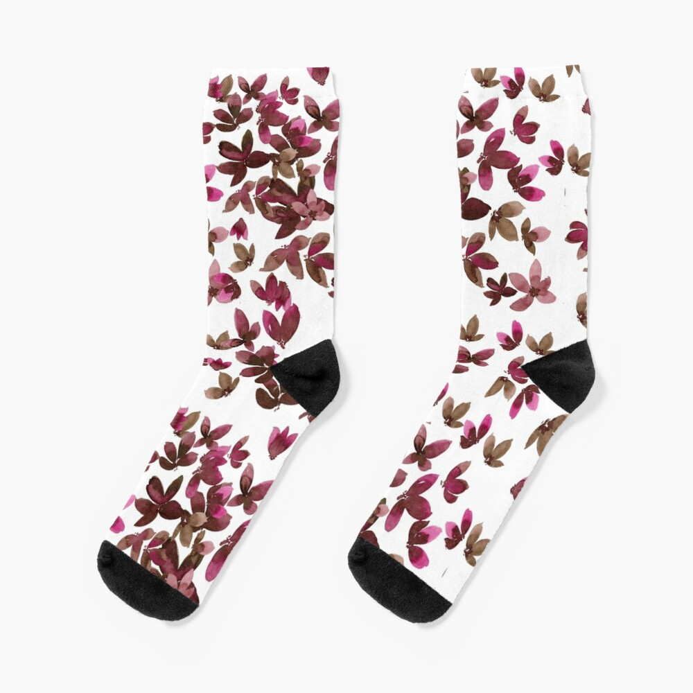 Born to Butterfly - Autumn Palette Socks