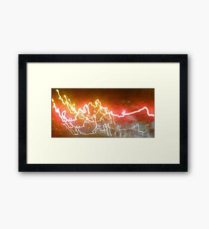 Street Lights 1 Framed Print