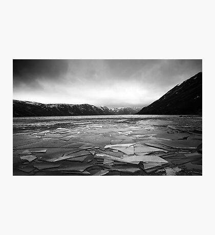 Icy Loch 5 Photographic Print