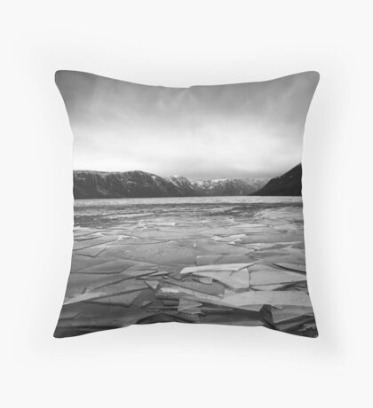Icy Loch 5 Throw Pillow