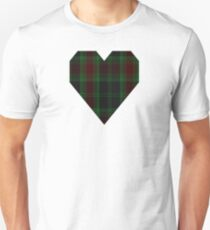 00302 Carlow County District Tartan  Unisex T-Shirt