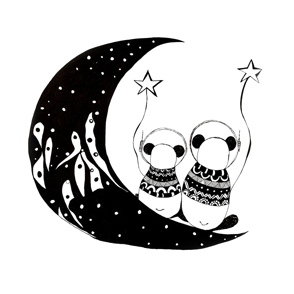Panda's adventures by monicamarcov