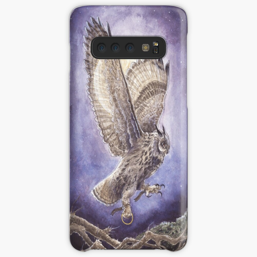 Bearing Three Hallowed Wings Case & Skin for Samsung Galaxy