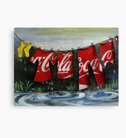 Washing Canvas Print