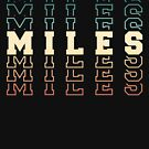 Miles Name by itsHoneytree