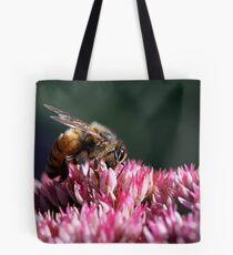 Honeybee on Common Milkweed Tote Bag