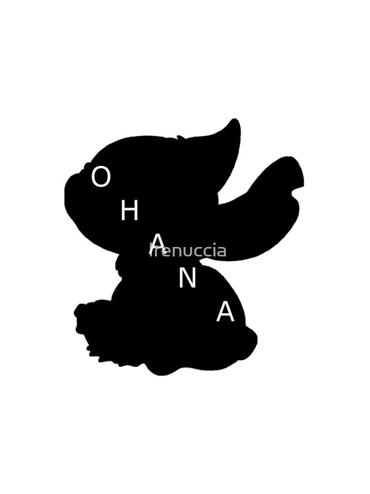 Stitch ama a Ohana de Irenuccia