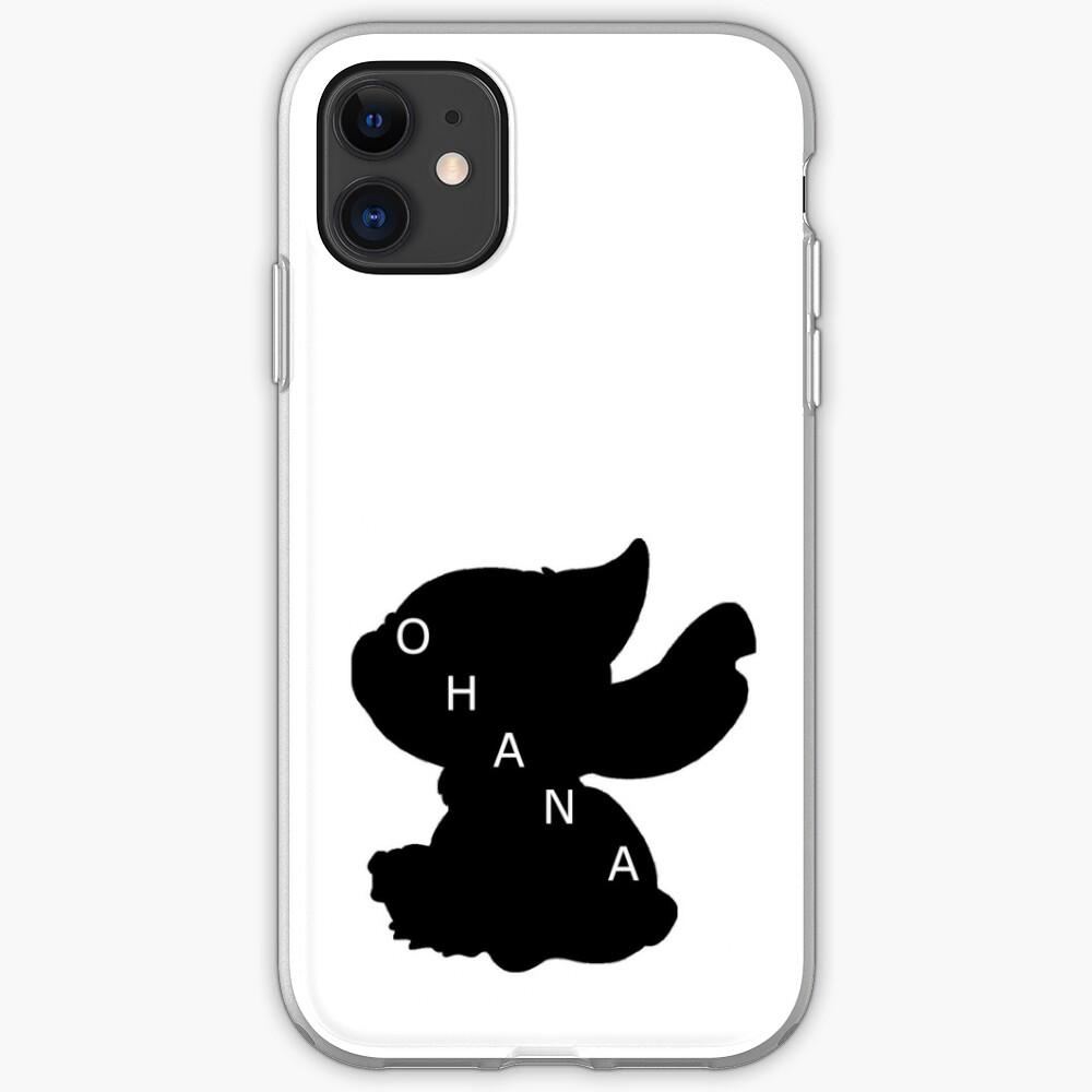 Stitch ama a Ohana Funda y vinilo para iPhone