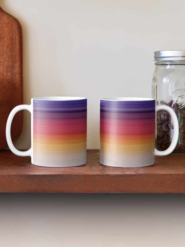 Alternate view of Rainbow Gradient Mug