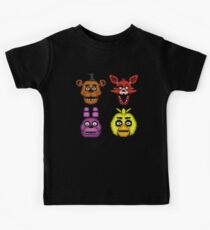Five Nights at Freddy's 1 - Pixel art - The Classic 4 Kids Clothes