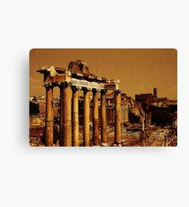 The Forum, Rome, Italy Canvas Print