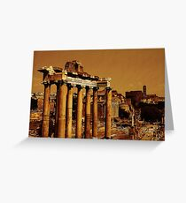The Forum, Rome, Italy Greeting Card