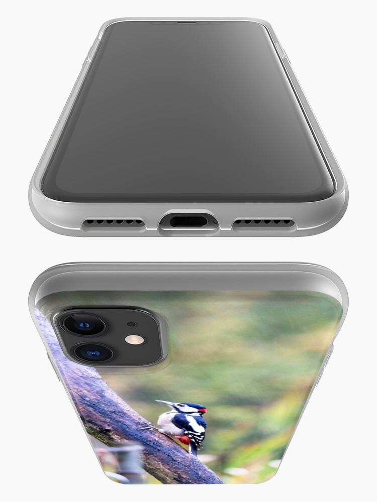 Alternate view of Great Spotted Woodpecker (Dendrocopos major) iPhone Case & Cover