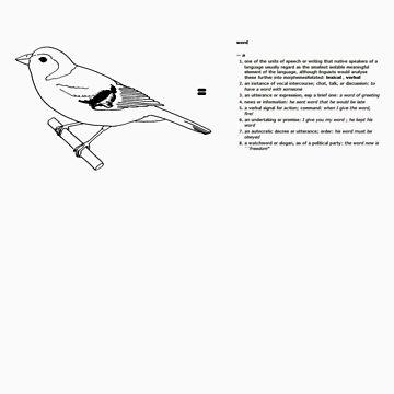 The Bird is the Word by Zedder