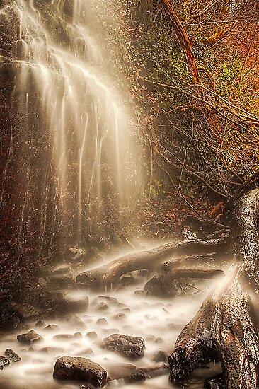 Misty Falls by Don Alexander Lumsden (Echo7)