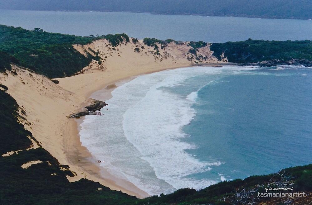 TASMAN PENINSULA ~ Crescent Bay (2) by tasmanianartist by tasmanianartist