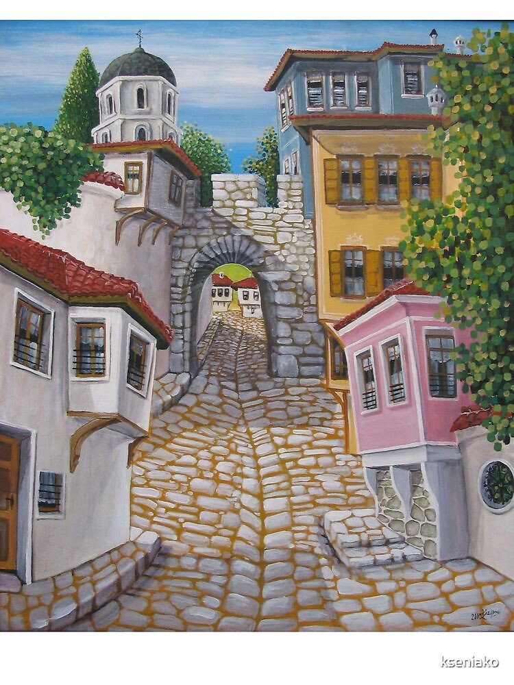 My town by kseniako