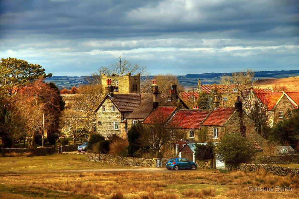 The Village of Goathland by Christine Smith