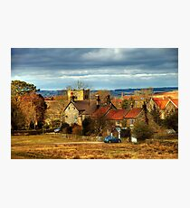 The Village of Goathland Photographic Print