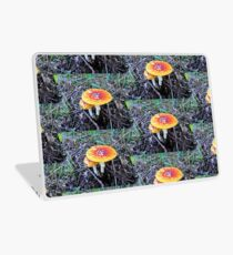 Colorful mushroom Laptop Skin