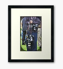 Definitely A Canon Man!  Framed Print
