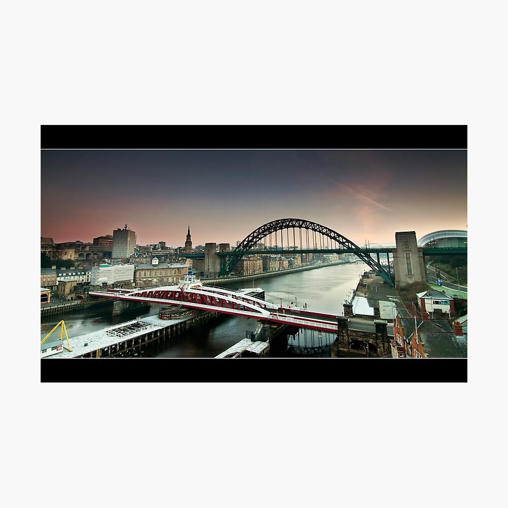 The city wakes Photographic Print