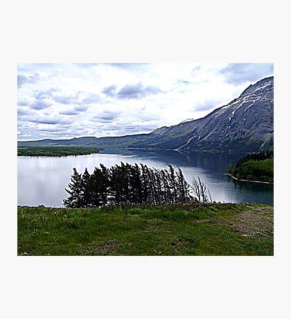 MIddle Waterton Lake Photographic Print