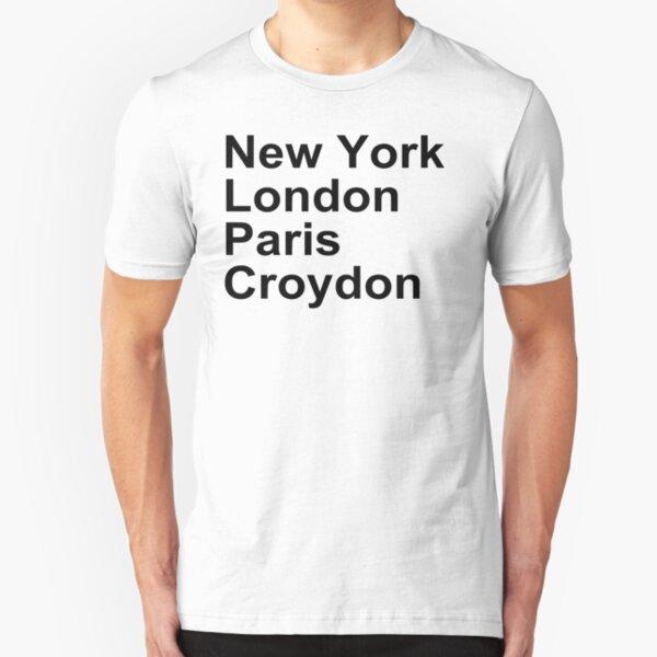 New York London Paris Croydon Slim Fit T-Shirt