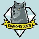 Diamond Doge by kinmoku