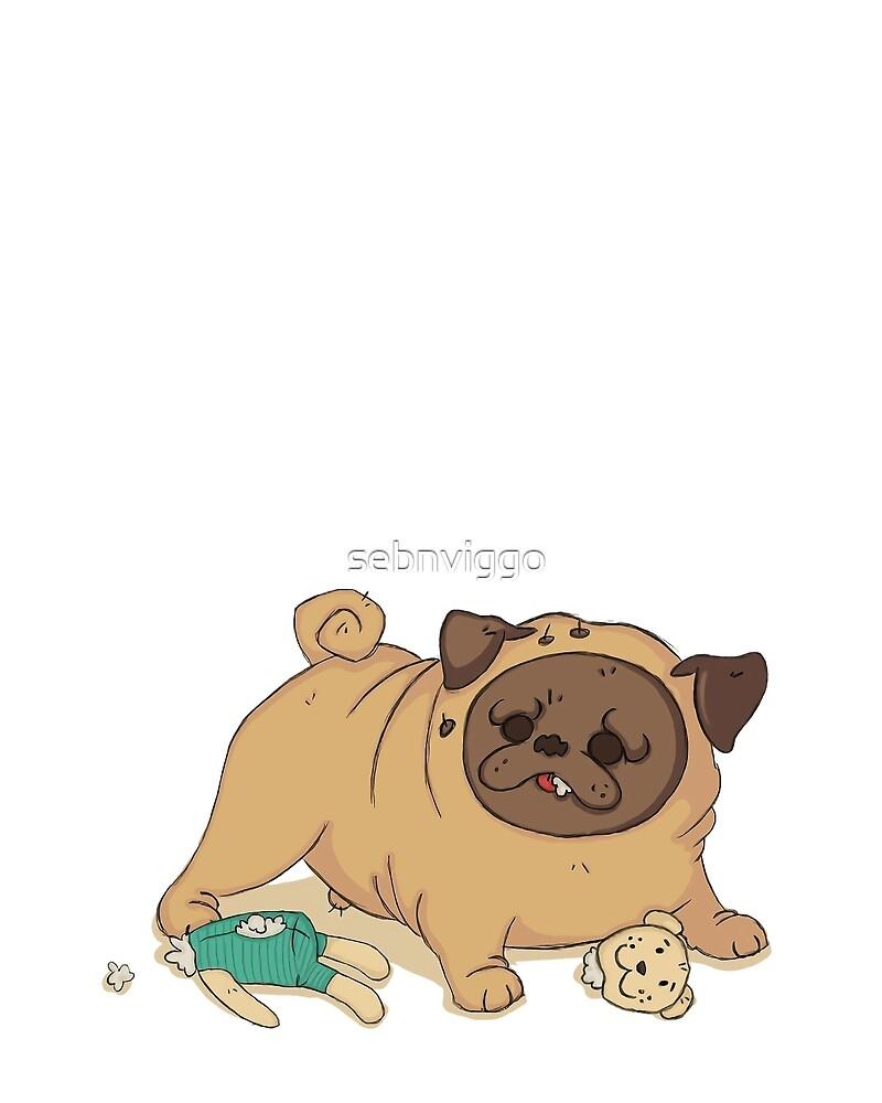 Percy & Bamsen by sebnviggo