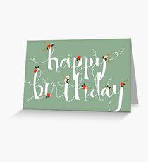 Sophia Happy Birthday/ Greetings Card Greeting Card