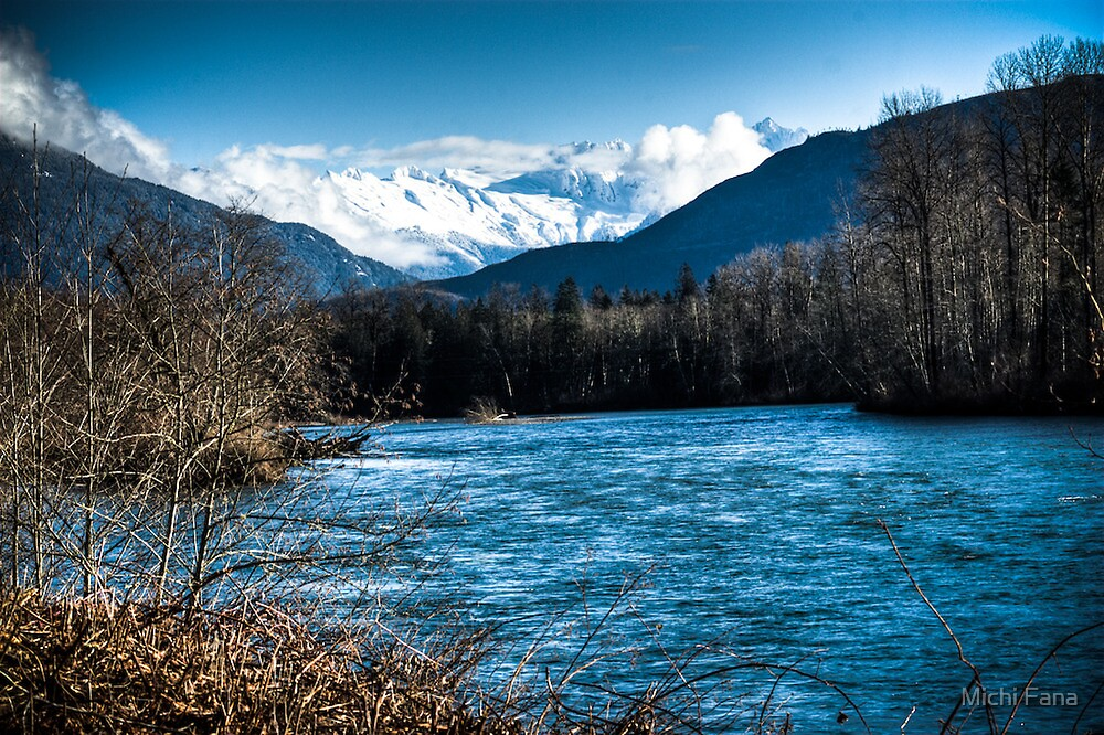Skagit River, WA by Michi Fana
