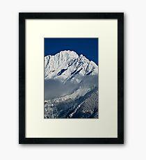 Mountain-WA Framed Print