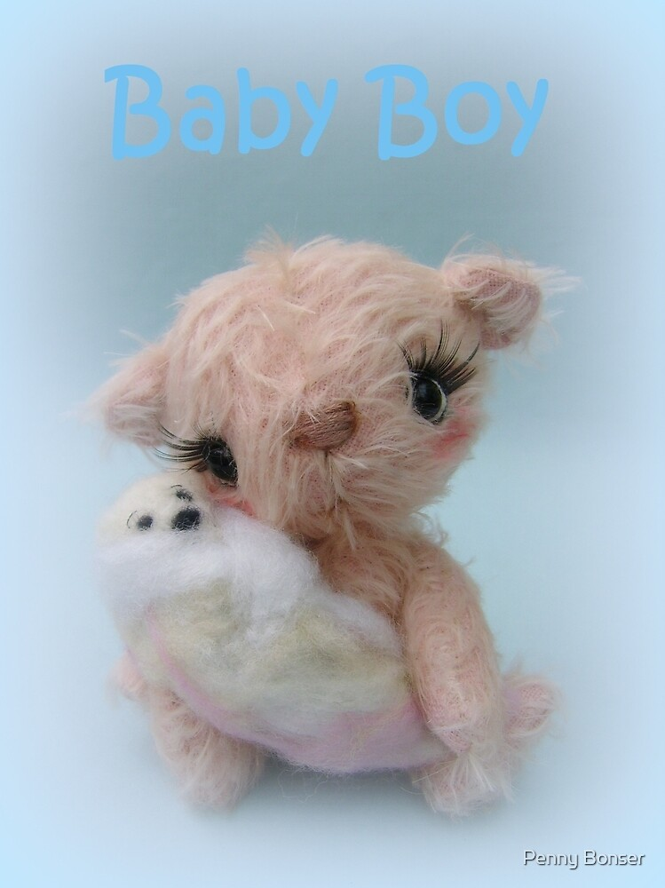 Baby Boy - Handmade bears from Teddy Bear Orphans by Penny Bonser