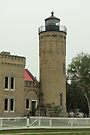 Mackinaw City Lighthouse by Bob Hardy
