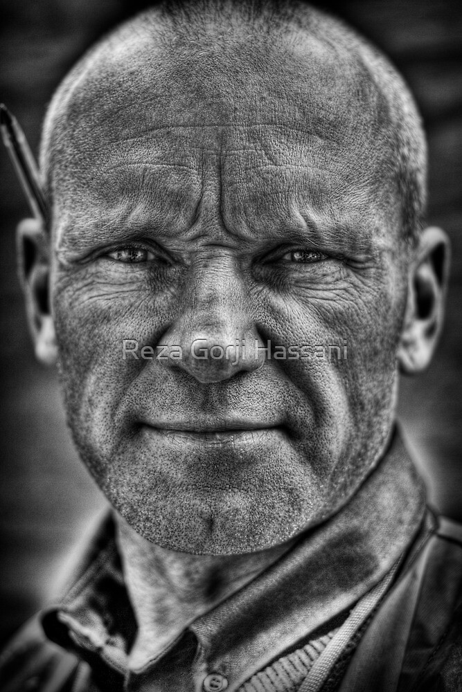 Honest Man by Reza Gorji Hassani