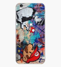 Super Mario Banksy Art London Police Street Graffiti Phone Cover iPhone Case