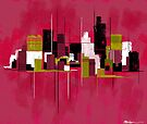 """Cityscape"" by Patrice Baldwin"