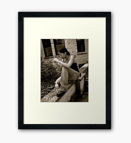 Capturing the Moment Framed Print
