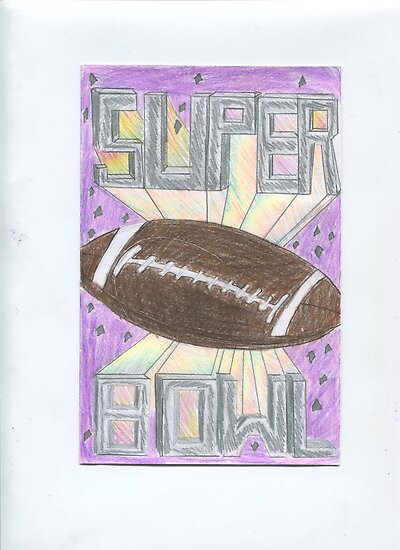 Super Bowl Football by DKards
