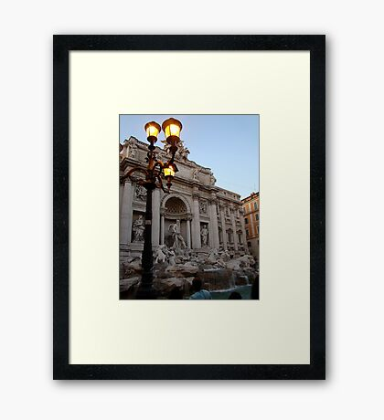 Come Back Again Some Day Framed Print