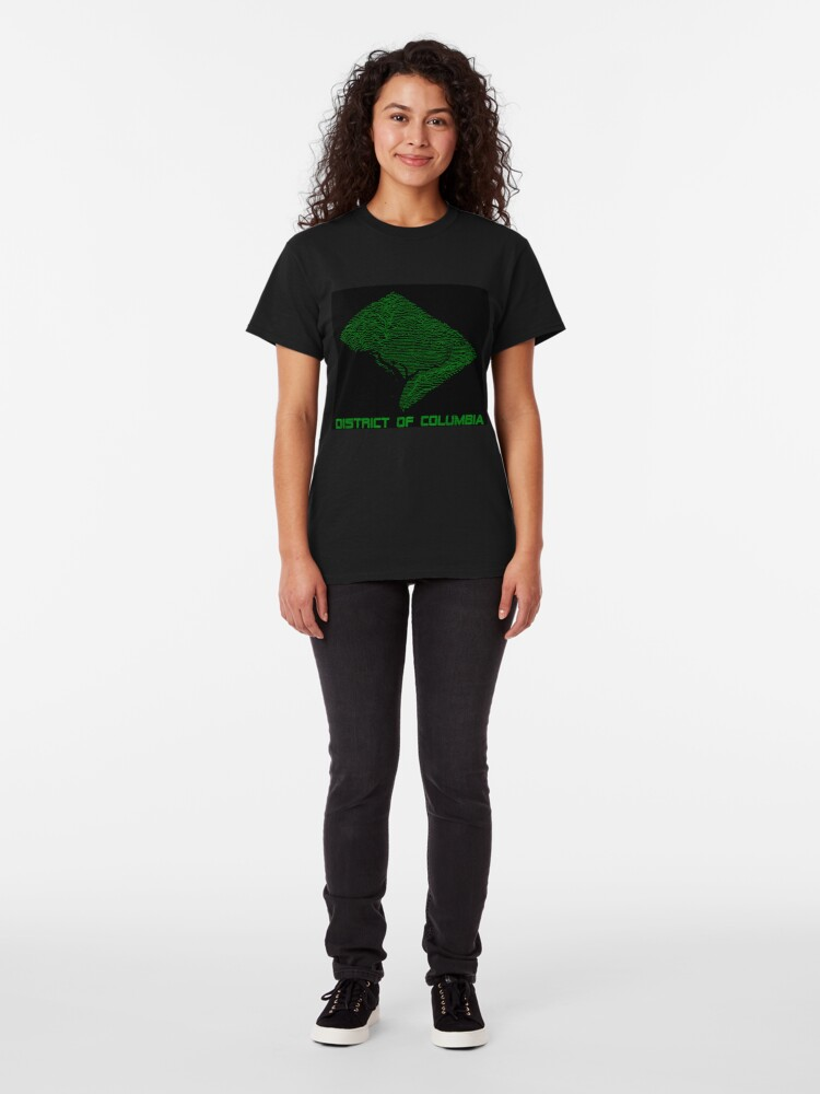 Alternate view of Retro Washington, DC - Unknown Elevations Classic T-Shirt