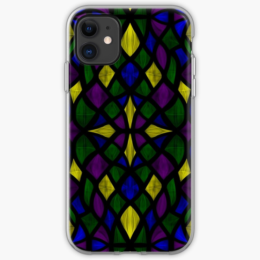 Stained Glass Scales iPhone Case & Cover
