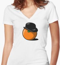 Alex DeOrange Women's Fitted V-Neck T-Shirt