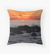 First Rays Throw Pillow