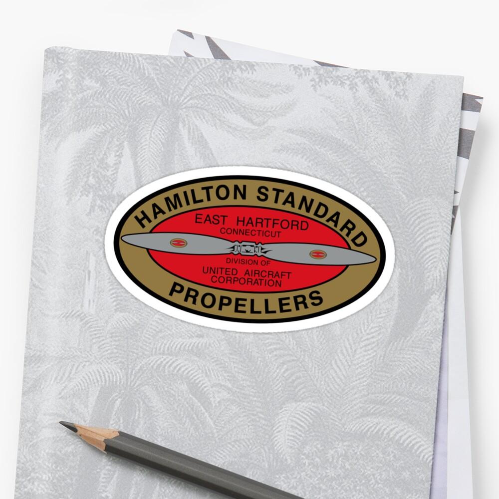 Hamilton Standard Logo Reproduction by warbirdwear